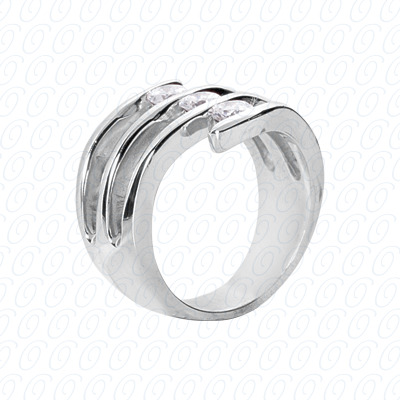 14KW Right Hand Rings Cut Diamond Unique Engagement Ring 0.30 CT. Fancy Rings Style