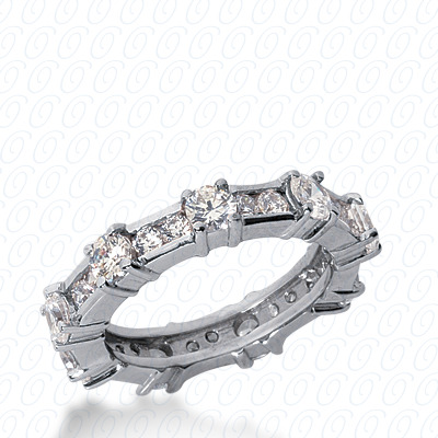 14KW Marquise Cut Diamond Unique Engagement Ring 0.98 CT. Wedding Bands Style