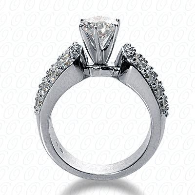 14KW Fancy Cut Diamond Unique Engagement Ring 0.96 CT. Engagement Rings Style