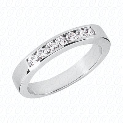 14KW Wedding Bands Cut Diamond Unique Engagement Ring 0.35 CT. Mens Rings Style