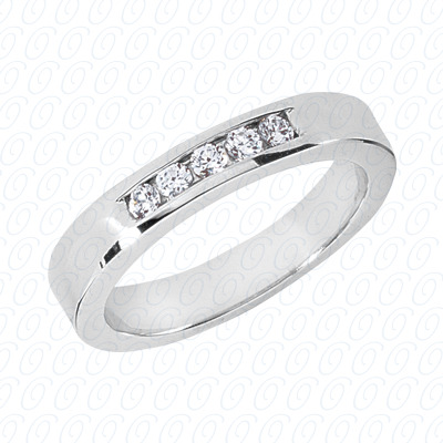 14KW Wedding Bands Cut Diamond Unique Engagement Ring 0.25 CT. Mens Rings Style