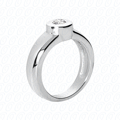 14KW Fancy Rings Cut Diamond Unique Engagement Ring 0.25 CT. Fancy Rings Style