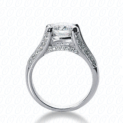 14KW Fancy Cut Diamond Unique Engagement Ring 0.31 CT. Engagement Rings Style