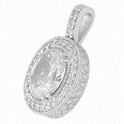 14KW  Color Stones Cut Diamond Unique Engagement Ring 0.84 CT. Pendants Style