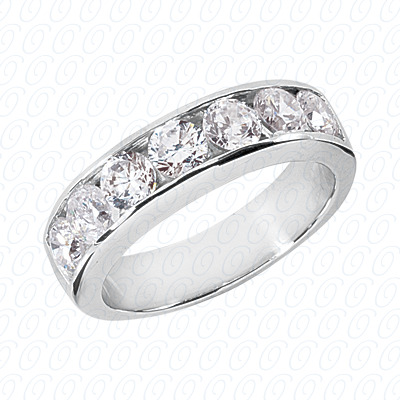 14KW Wedding Bands Cut Diamond Unique Engagement Ring 2.10 CT. Mens Rings Style