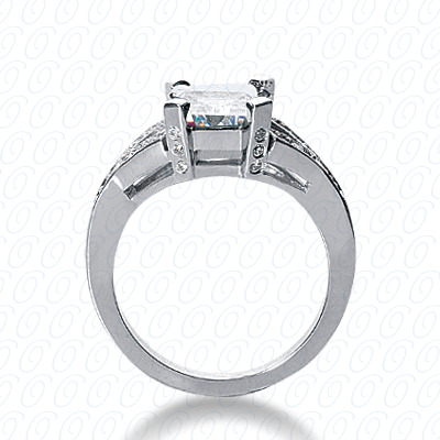 14KW Fancy Cut Diamond Unique Engagement Ring 0.25 CT. Engagement Rings Style