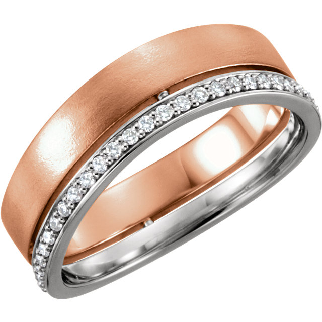 Two-Tone Curved Band