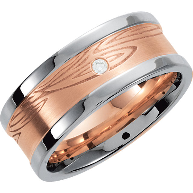 Two-Tone Designer Band